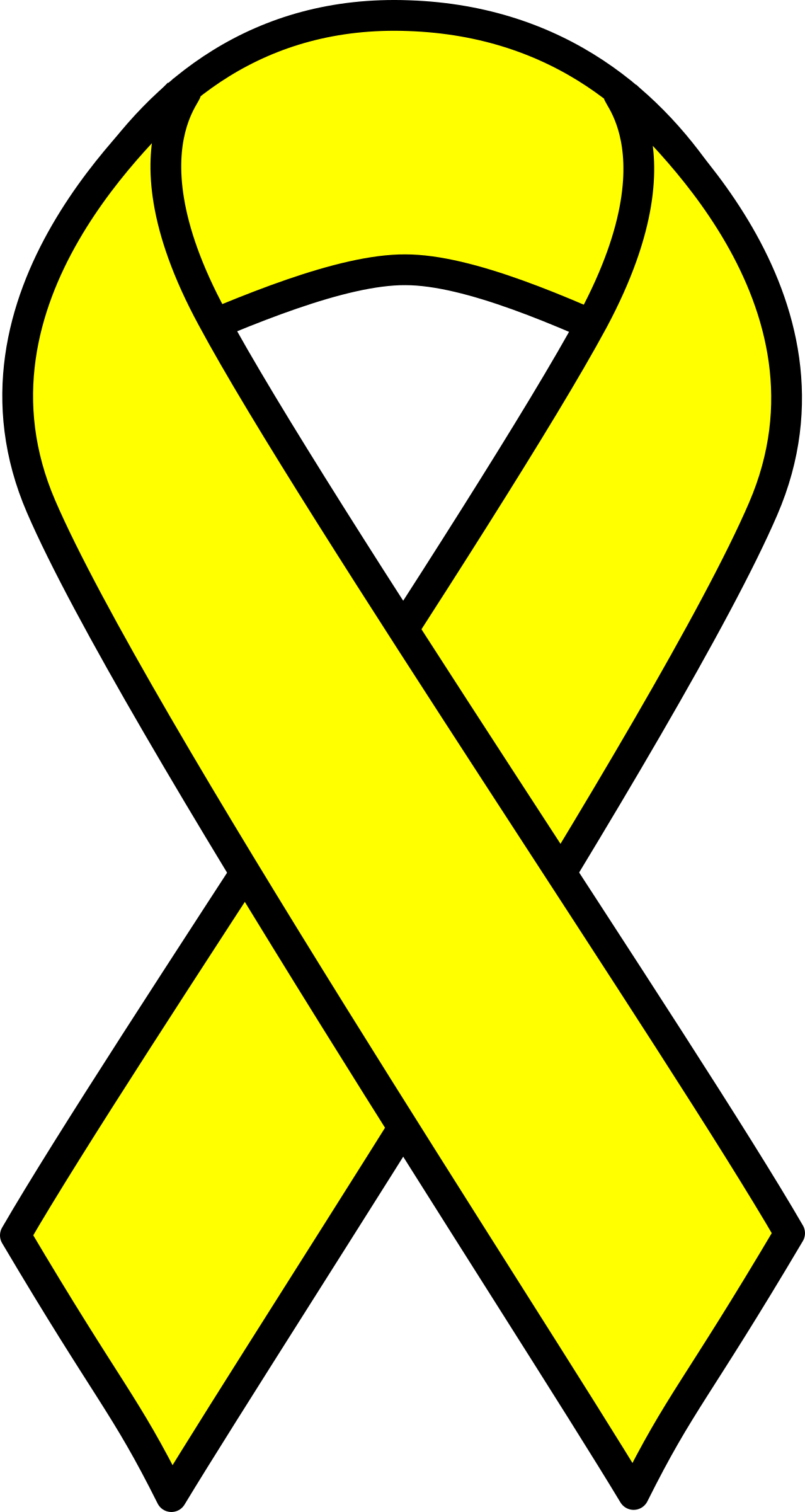 Cancer Ribbons Clipart.