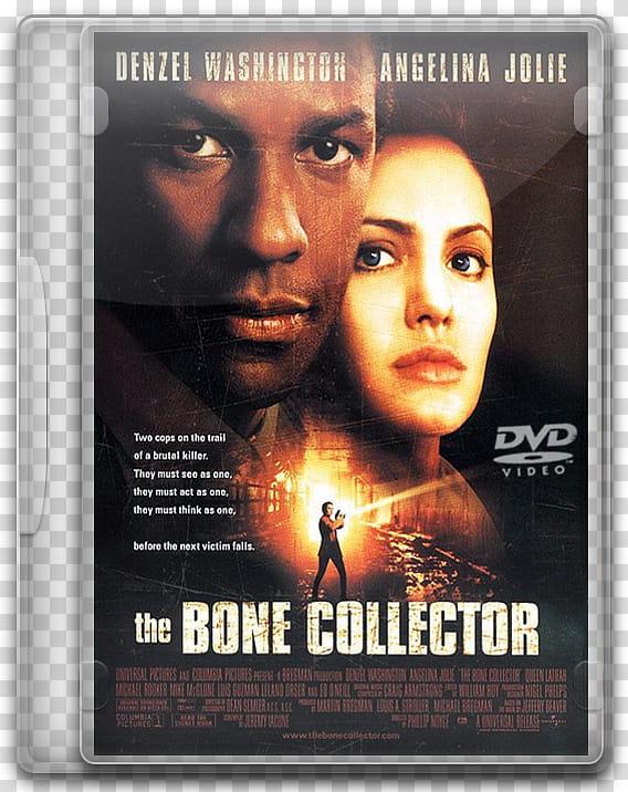 DVD movies icon, the bone collector, The Bone Collector DVD.