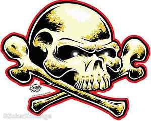 Free Dome Skull Sticker Decal Art Dirty Donny DD30.