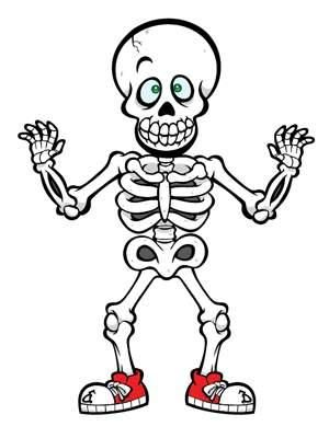 Cute halloween skeleton clip art drawing art of cute halloween.