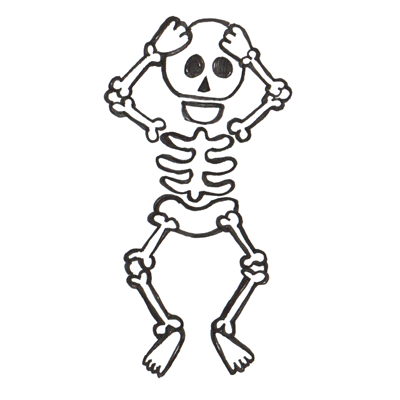 Cartoon Skeleton Pictures.