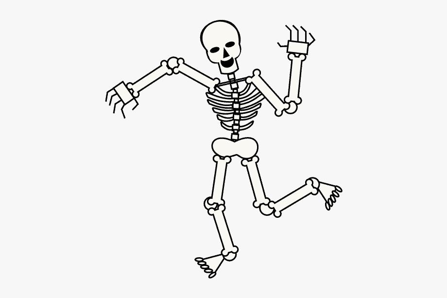 How To Draw Skeleton.