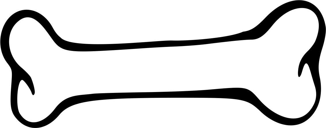 Free Dog Bone Outline, Download Free Clip Art, Free Clip Art.
