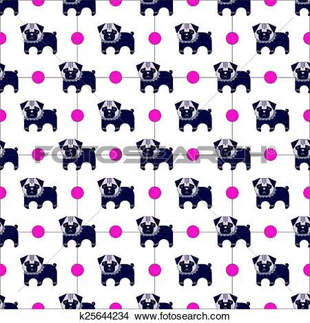 Bone pattern clipart #7