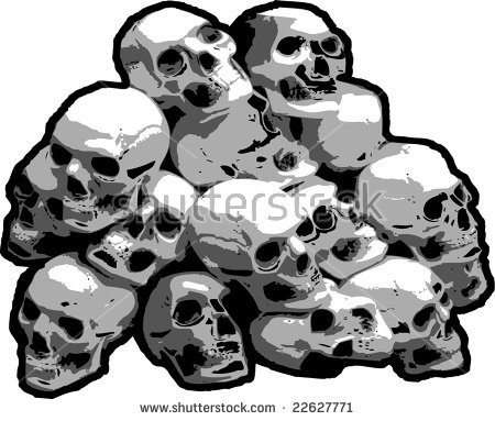 From Pile Skulls Stock Photos, Royalty.
