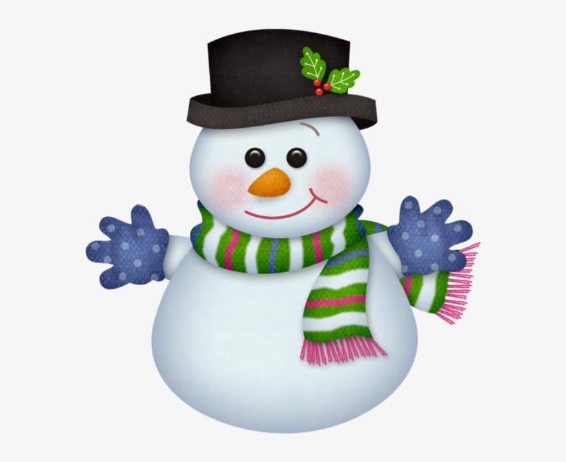 Snowman Clipart January.