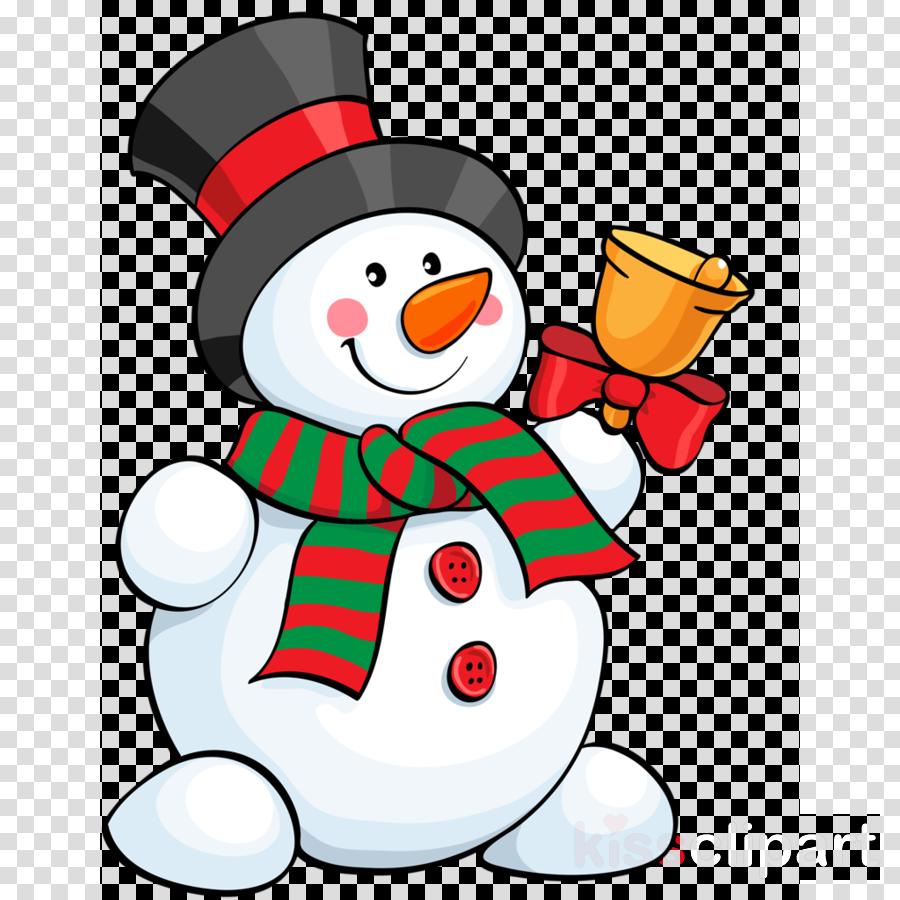 Christmas Snowman clipart.