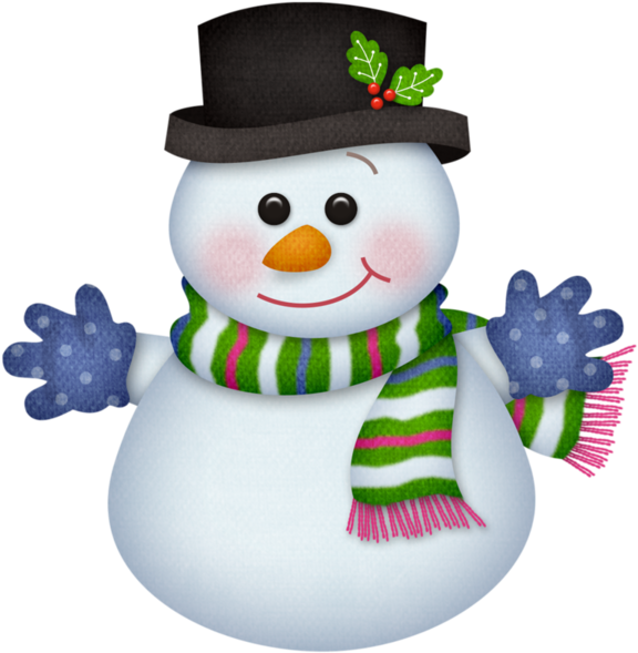 Download Snowman Clipart January.