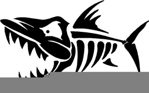 Bone Fish Clipart.