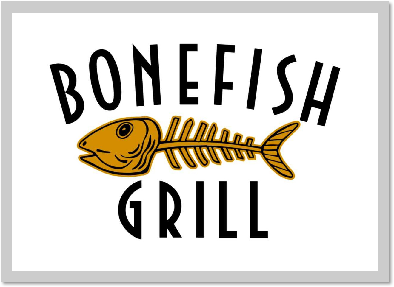 Bonefish Grill Experience.
