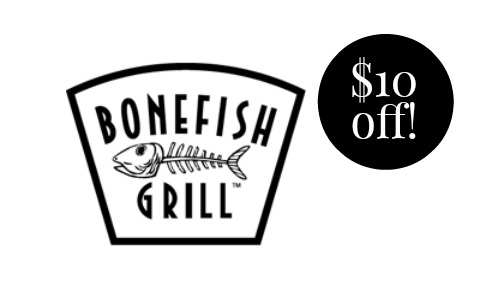 Bonefish Grill Coupon.