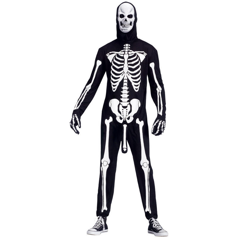 Mens Adults Funny Naughty Skele.