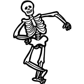 Halloween Bones Clipart.