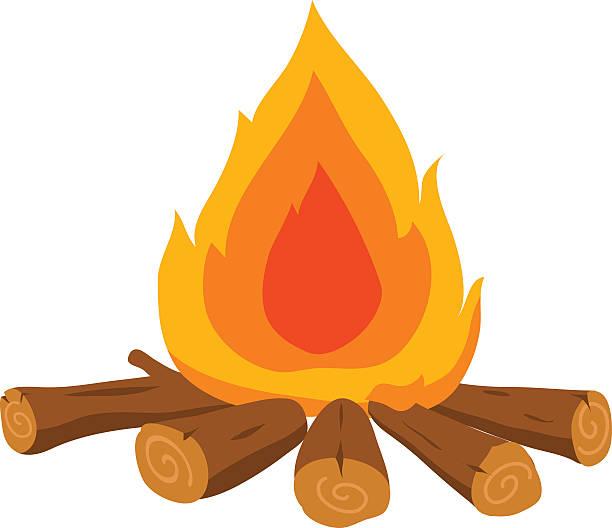 Best Bonfire Illustrations, Royalty.
