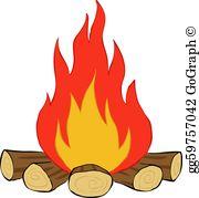 Bonfire Clip Art.