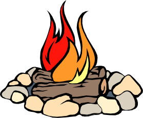 Bonfire Cartoon.