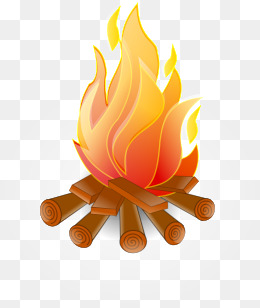 423 Bonfire free clipart.