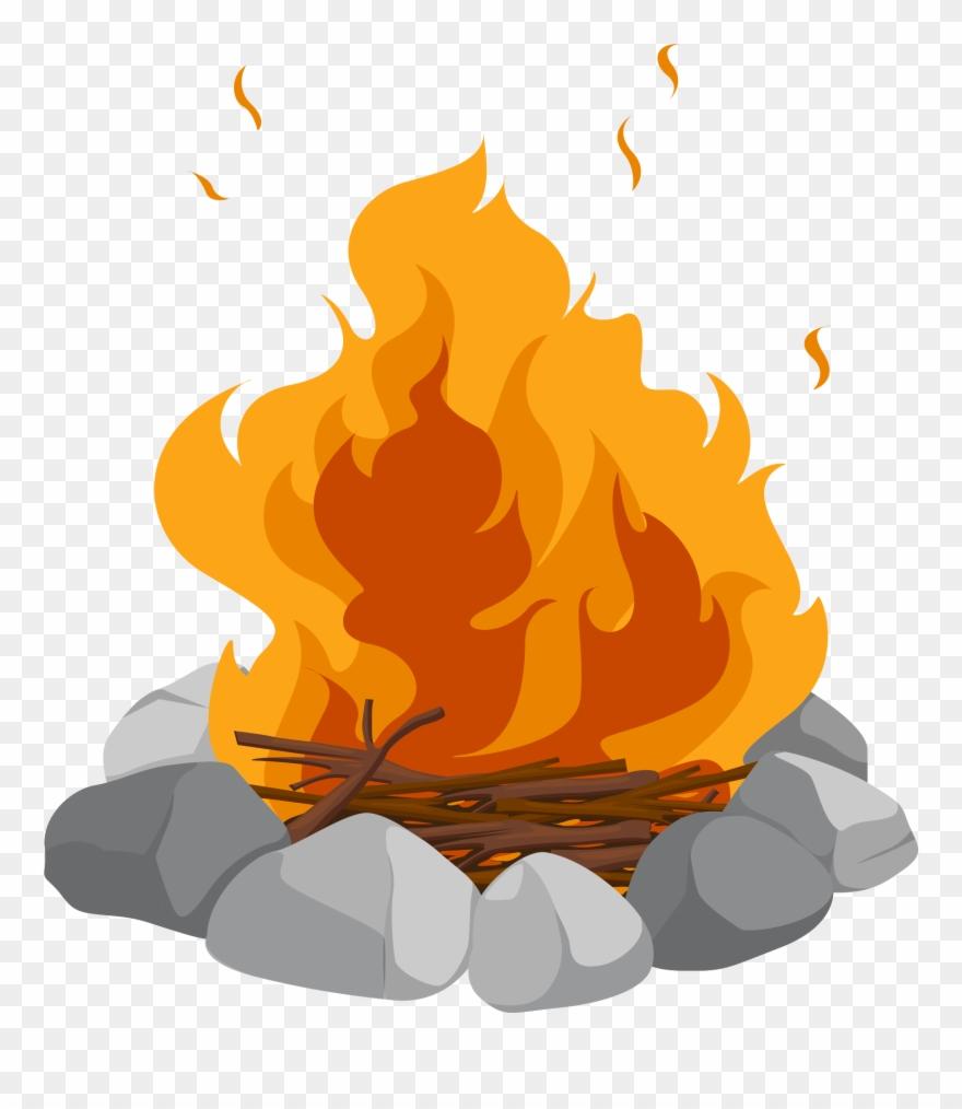 Campfire Cartoon Bonfire Clip Art Heap.