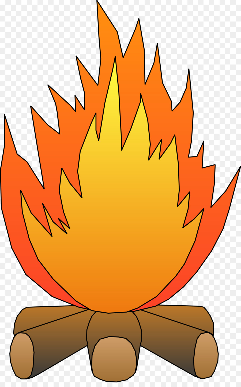 Bonfire Clipart animated 9.
