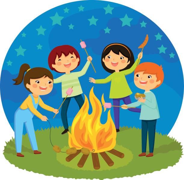 Best Bonfire Night Illustrations, Royalty.