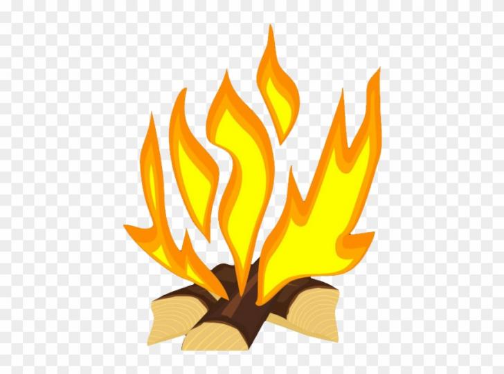 bonfire party clipart.