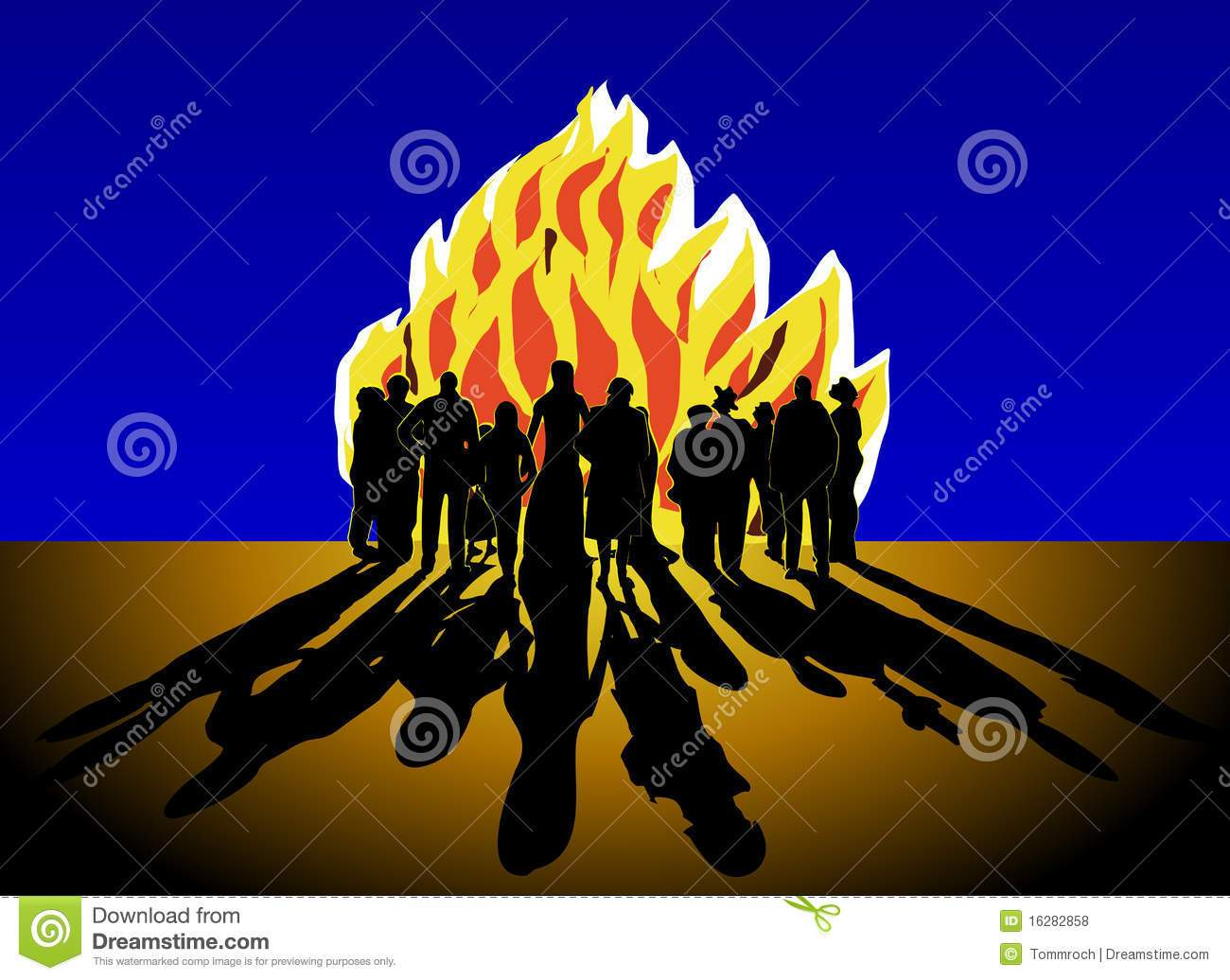 Bonfire party clipart 7 » Clipart Portal.