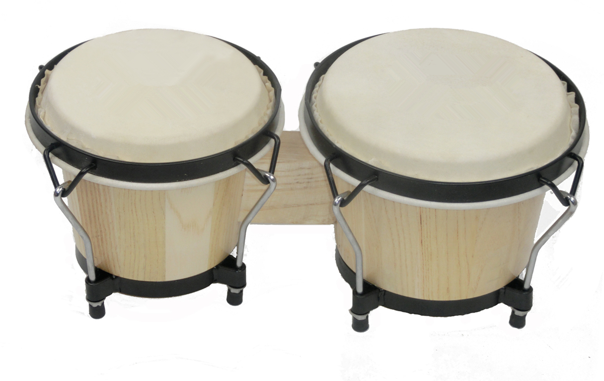 Art Kids Music Instruments , Vintage Kids Bongo Drum.