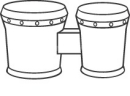 bongo clipart 2 130x96.