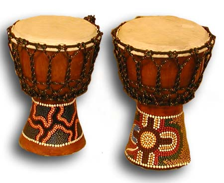 Clipart African Drum.