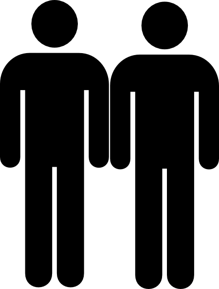 Twin Toilet Men Clip Art at Clker.com.
