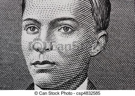 Stock Images of Andres Bonifacio.