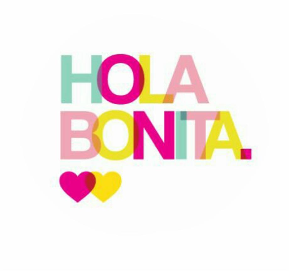 Hola Bonita , Png Download.