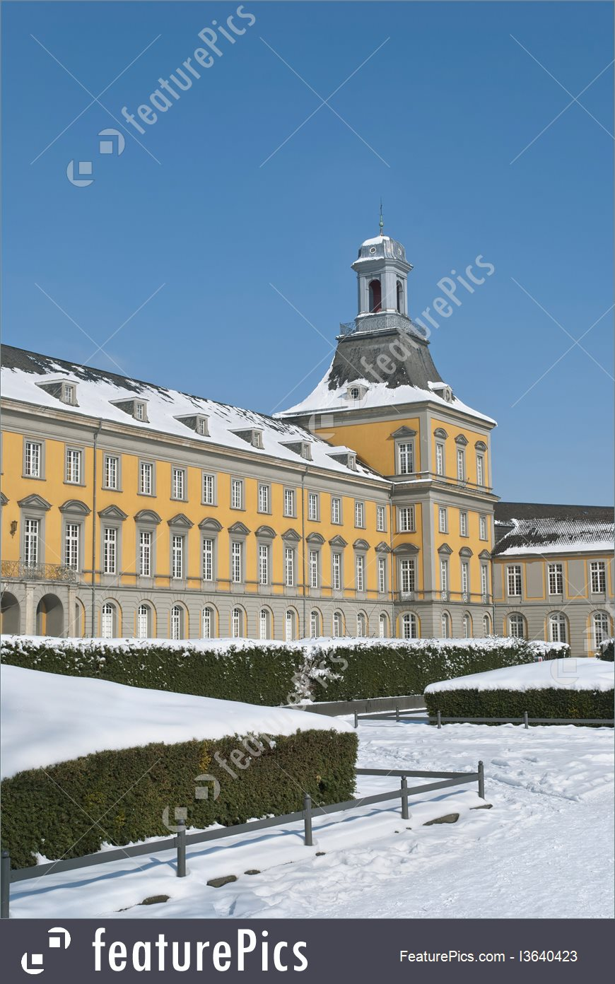 Picture Of University Of Bonn In Winter.
