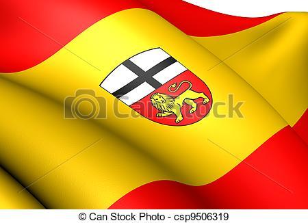 Stock Illustration of Flag of Bonn, Germany. Close Up. csp9506319.