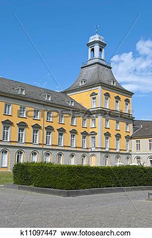 Stock Illustration of University of Bonn k11097447.