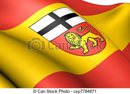 Clipart of Flag of Bonn, Germany. Close up. csp7784871.