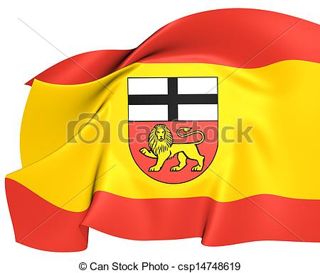 Clipart of Flag of Bonn, Germany. Close Up. csp14748619.