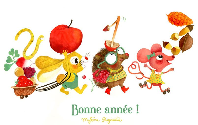 Bonne Année! ©Mylène Rigaudie.