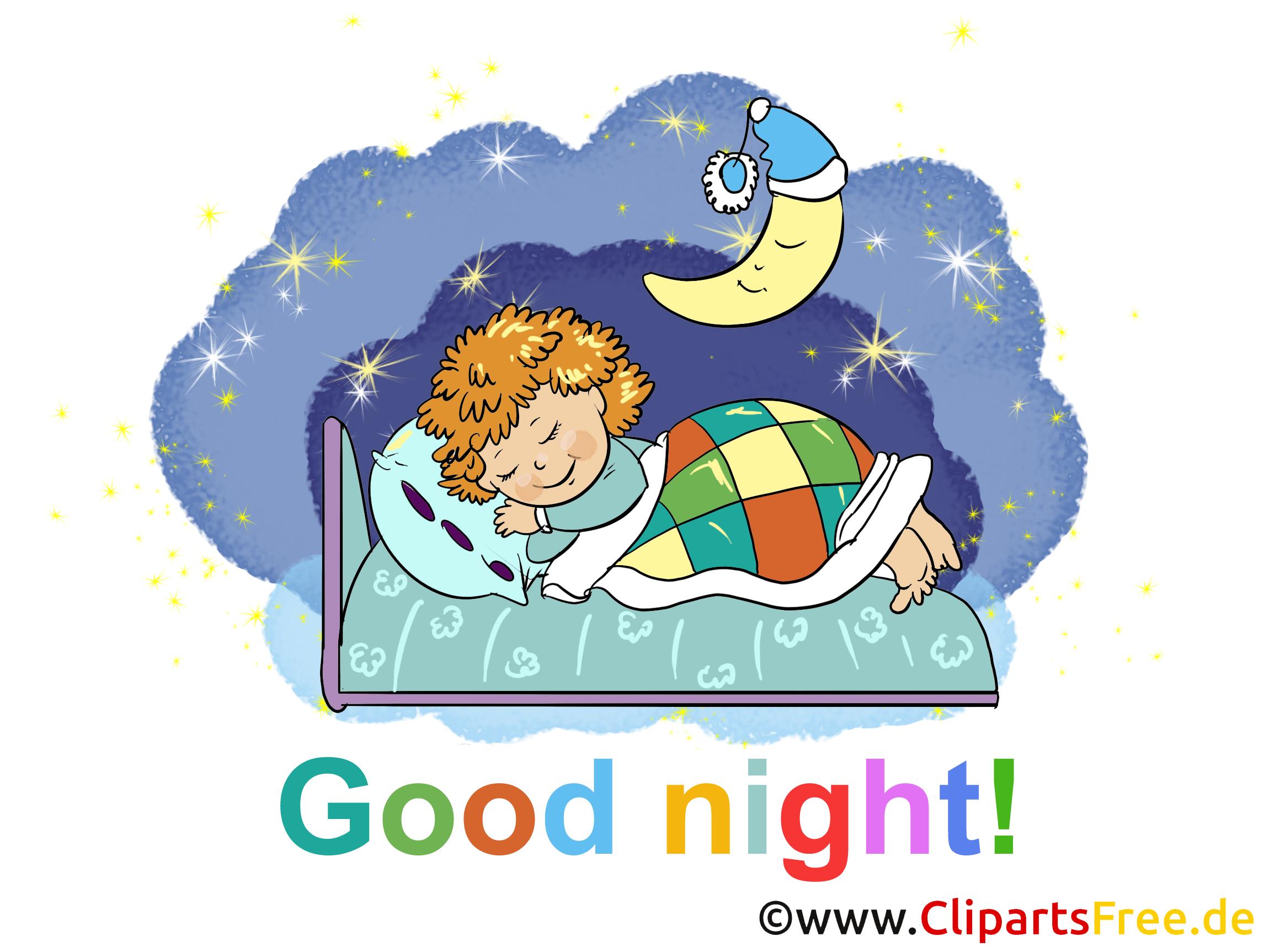 Bonne nuit dessin gratuit à télécharger.