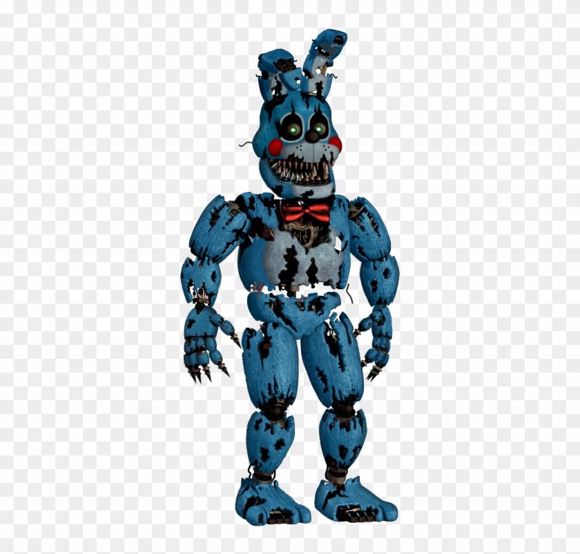 fnaf4 Nightmare Toy Bonnie #edit.