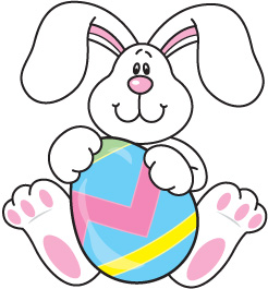 Easter bunny clipart #6