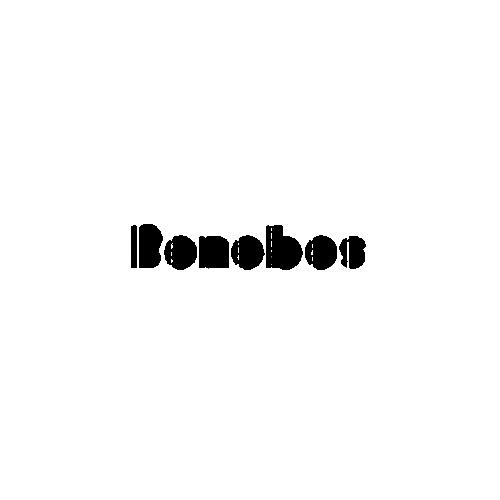Bonobos Band Logo Vinyl Sticker.