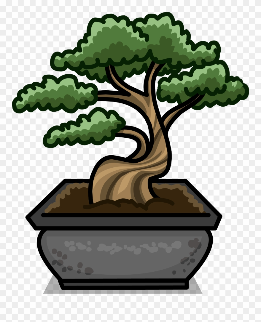 Bonsai Tree Sprite Clipart (#2594643).