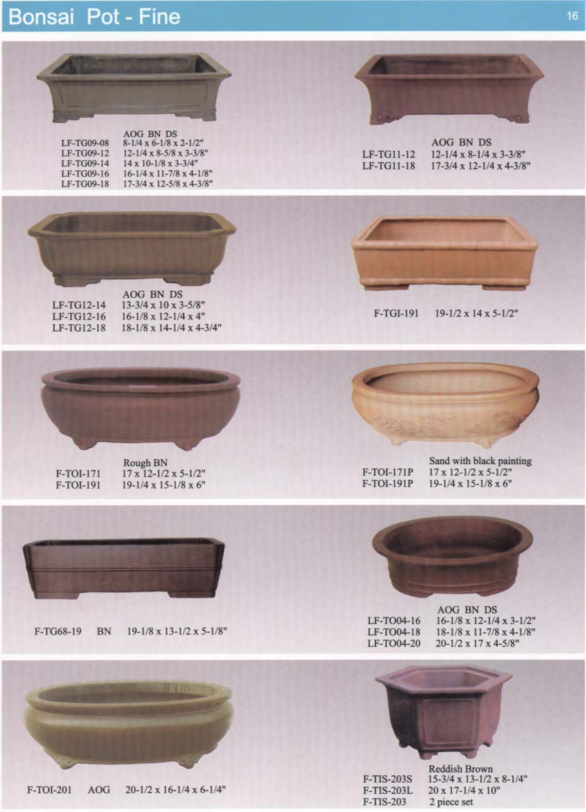 Yixing Bonsai Pot, Yixing Bonsai Pot Suppliers and Manufacturers.