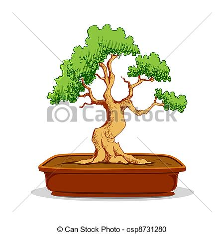 Bonsai Illustrations and Clip Art. 1,565 Bonsai royalty free.