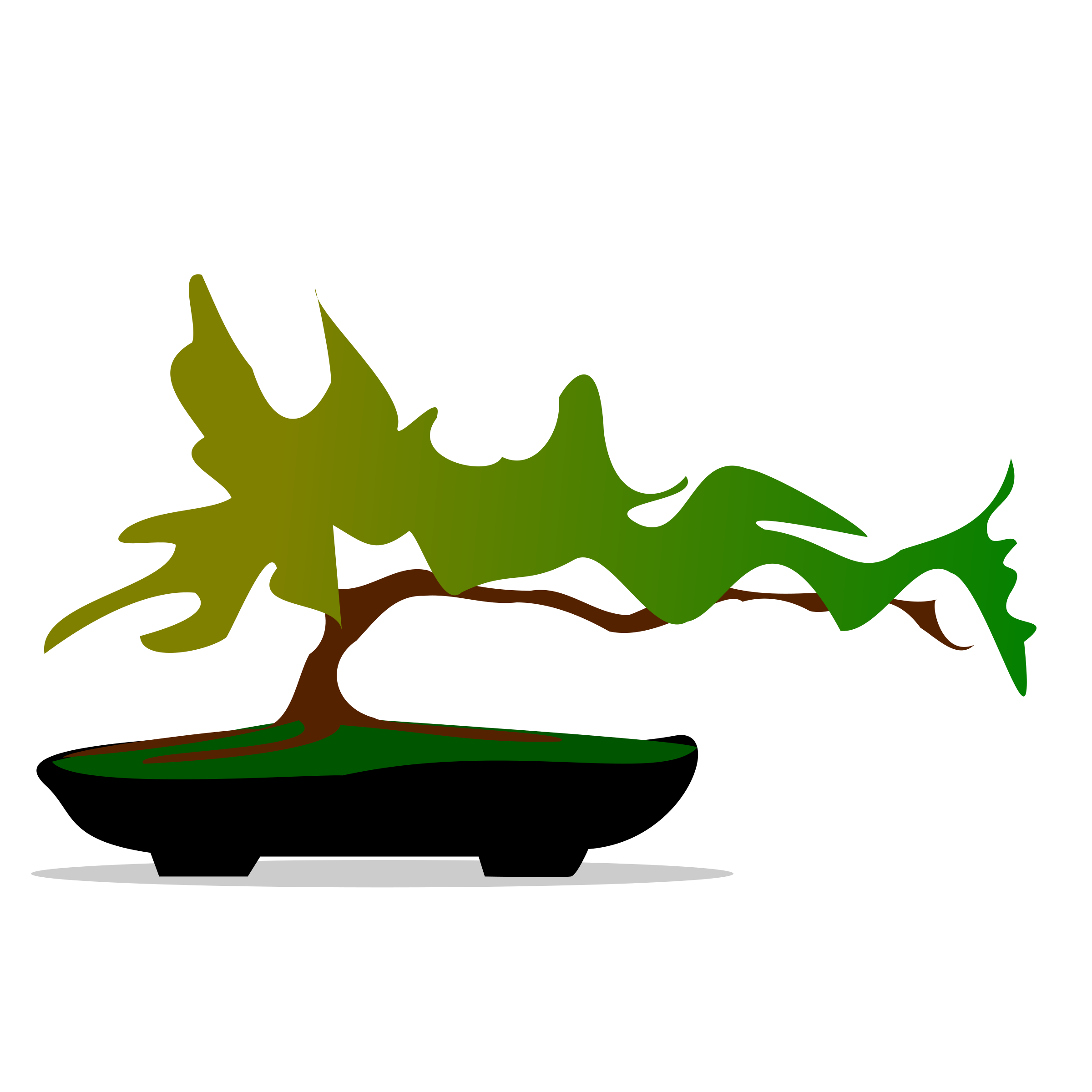 Bonsai tree clipart.