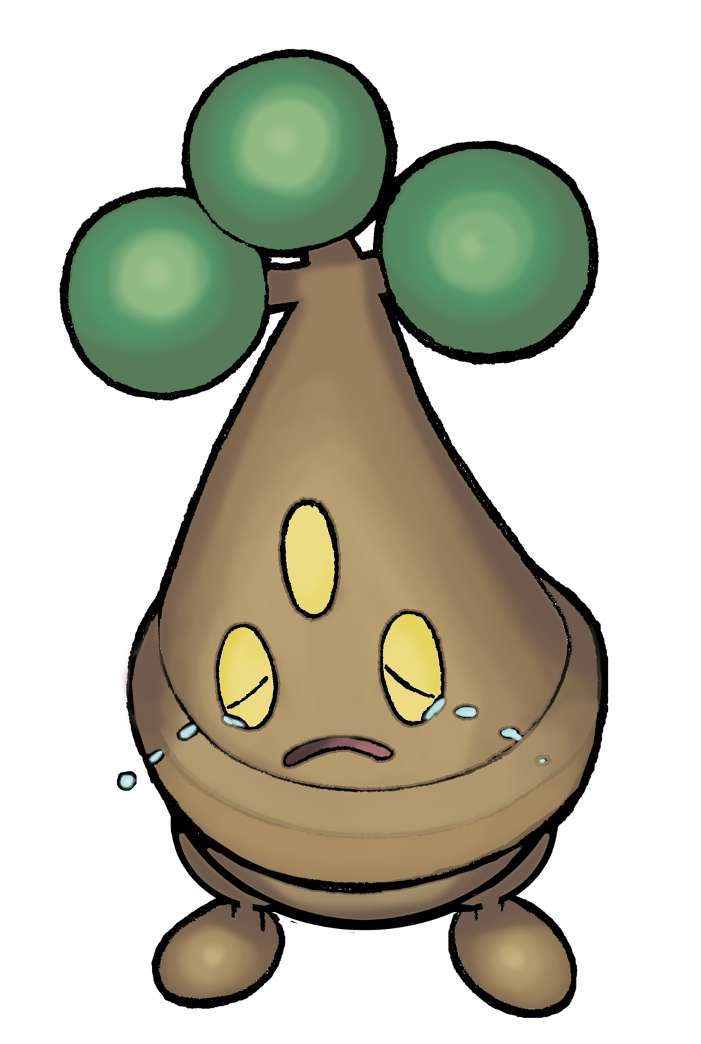 438 Bonsly (color) by realarpmbq on DeviantArt.