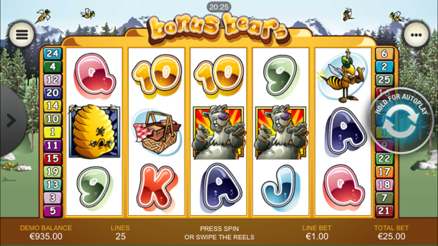 Bonus Bears Slot Review & Game Bonus.