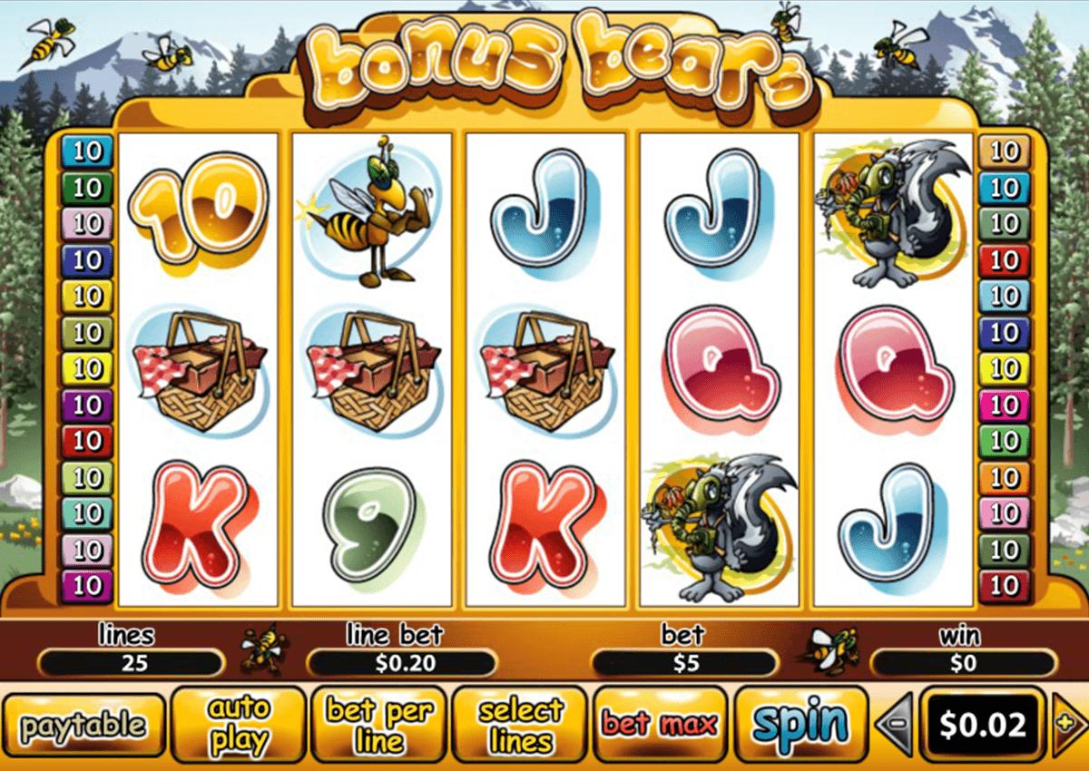 Bonus Bears Online Slot SA.