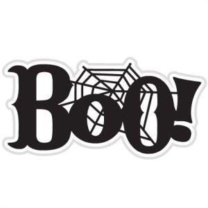 Boo Clip Art.
